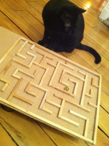 avec du bois chemin de bille labyrinthe engrenages toysfab. Black Bedroom Furniture Sets. Home Design Ideas