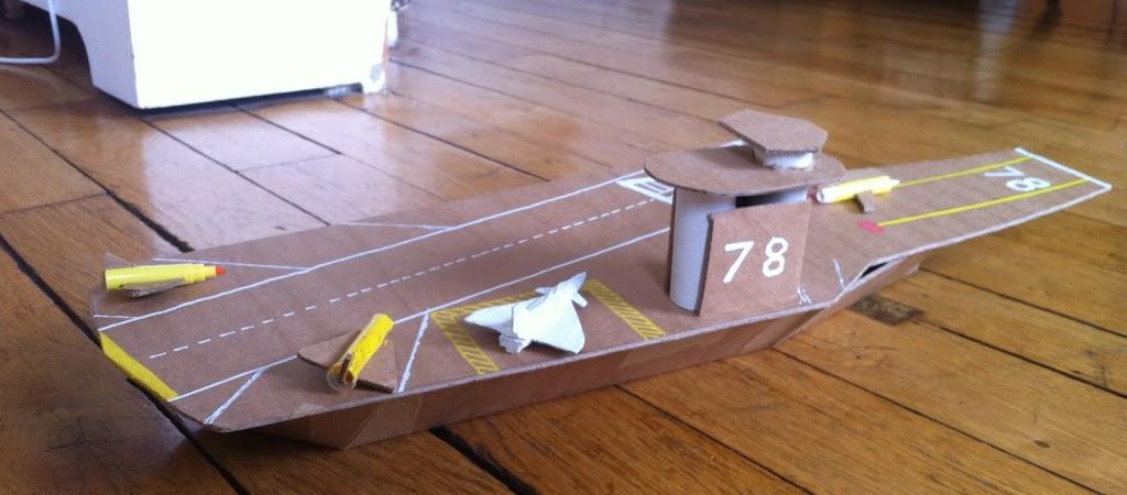 Faire un avion en carton xo98 jornalagora - Comment faire un porte avion en papier ...