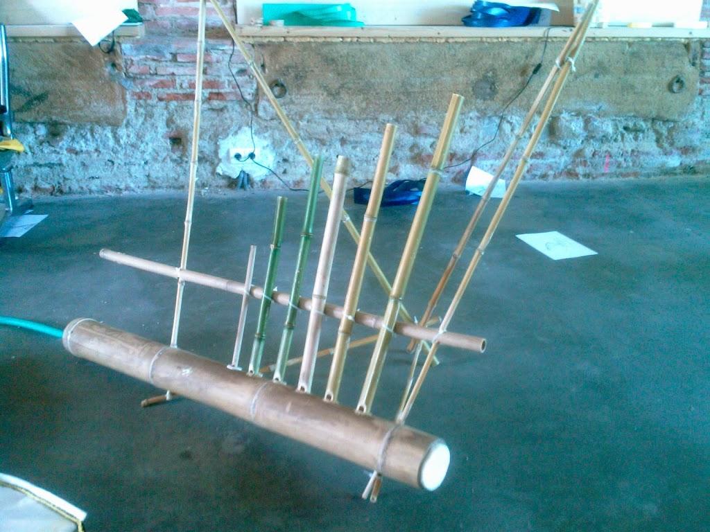 Fabriquer avec du bambou une flute de pan et m me un for Que peut on faire avec du bambou