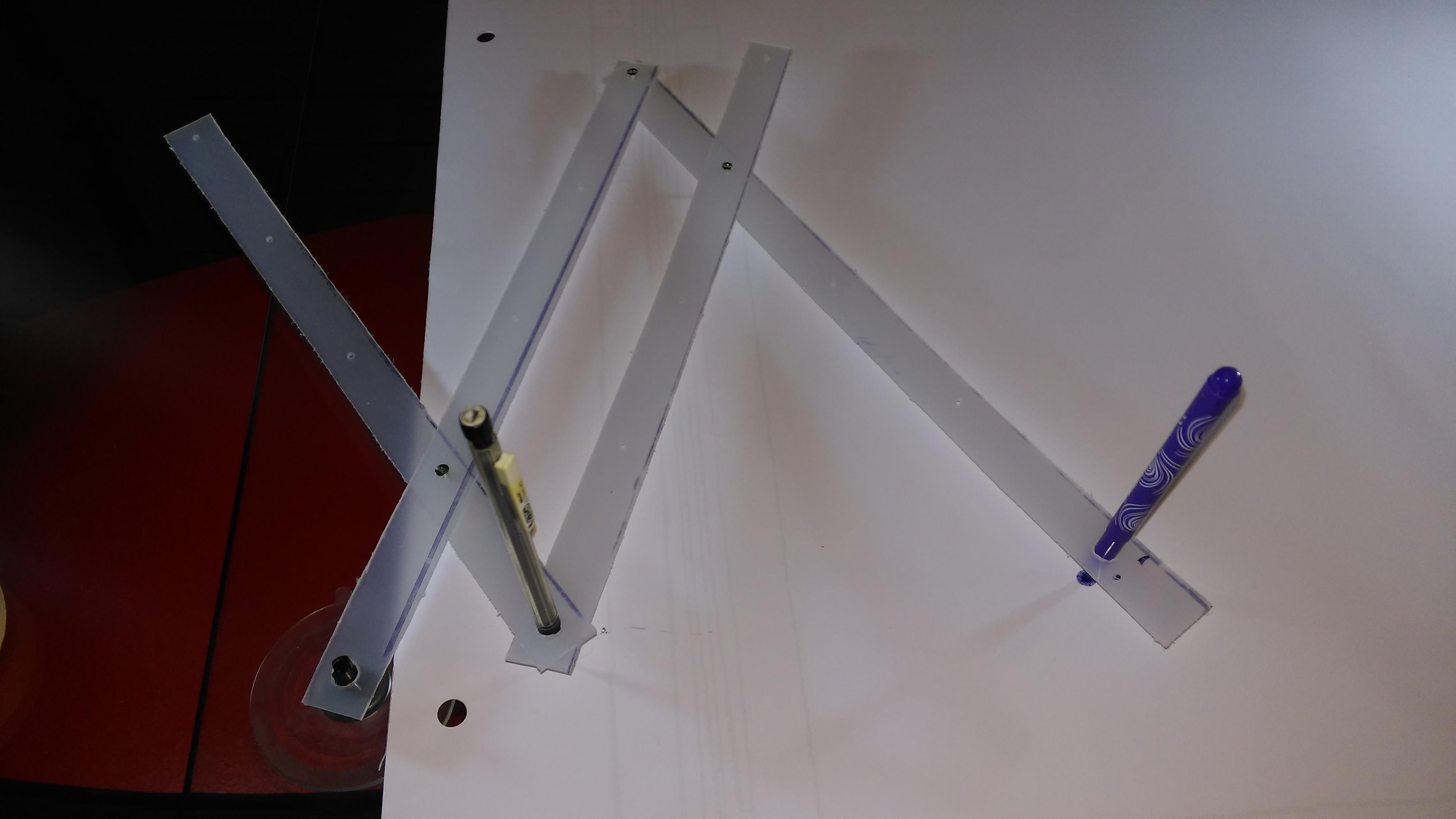 Fabriquer un pantographe toysfab for Site pour plan a trois