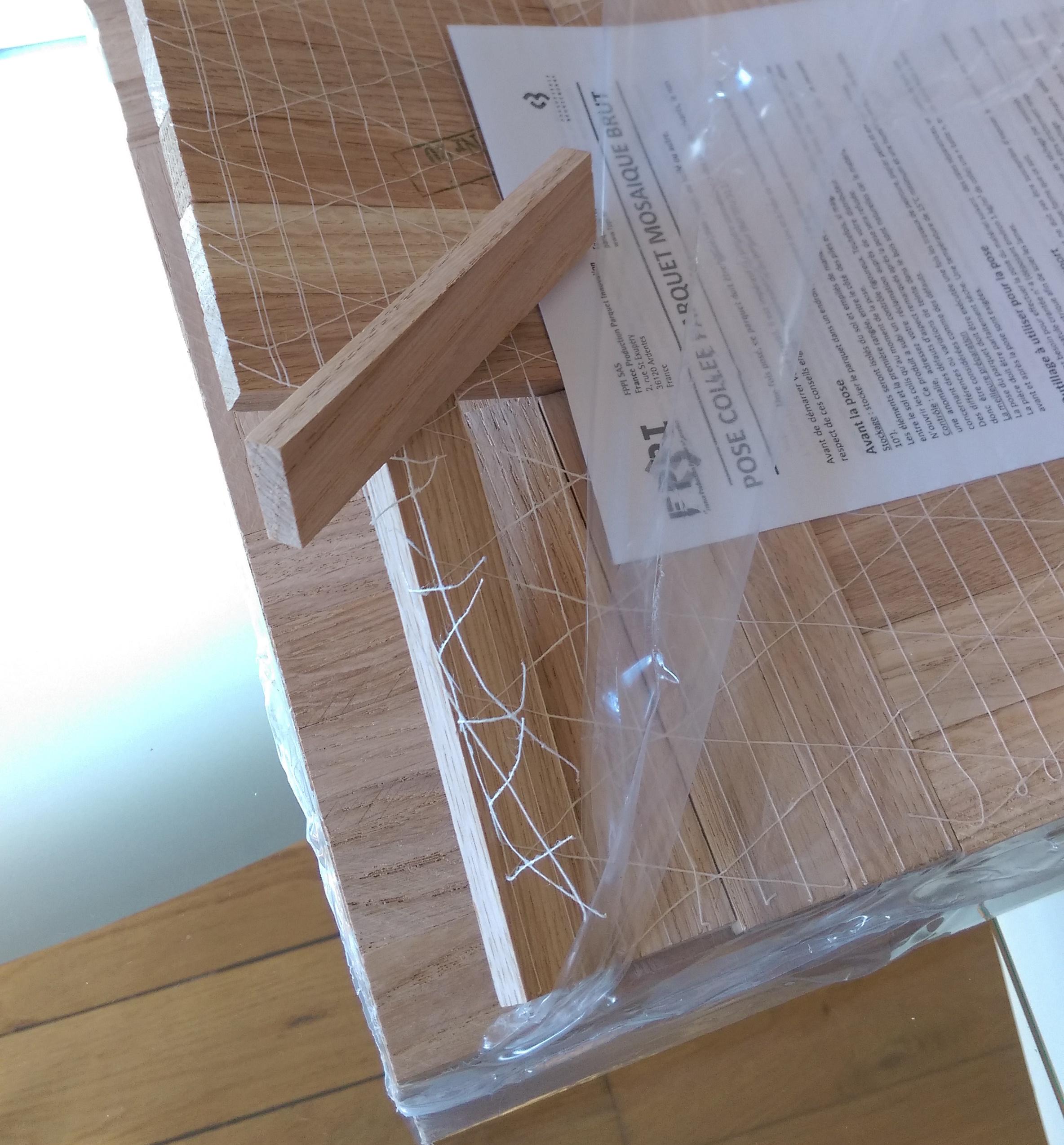 parquet mosaique blanchi excellent carrelage imitation parquet carreaux de ciment et pierre. Black Bedroom Furniture Sets. Home Design Ideas