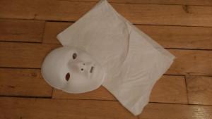 moulage masque matériel