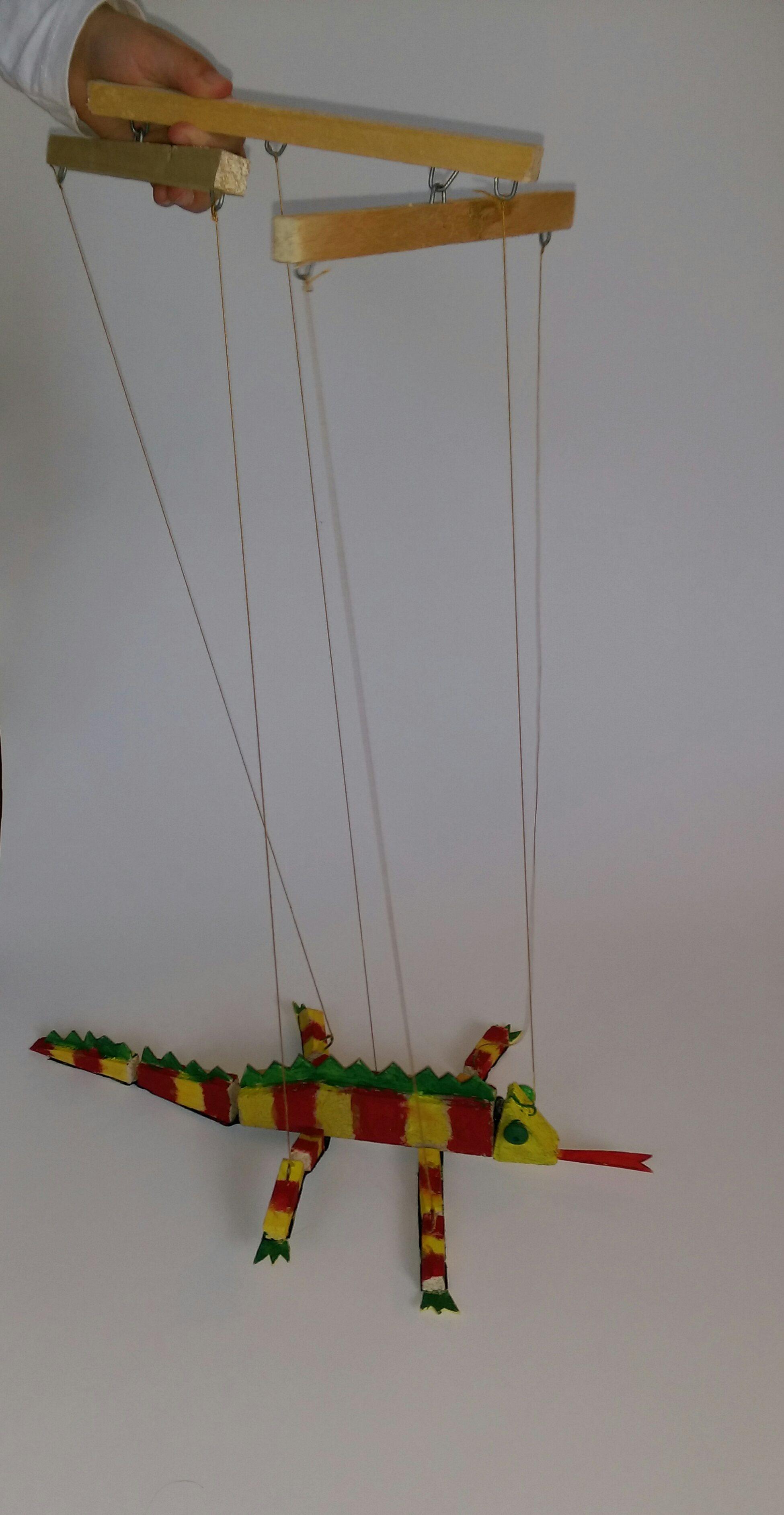 Leur faire fabriquer une marionnette fil cam l on toysfab - Comment faire une marionnette ...