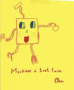 dessin Elea machine à rendre les gens joyeux