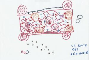 dessin Ines machine à rendre les gens joyeux