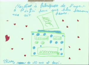 dessin Shiraz Machine à rendre les gens joyeux