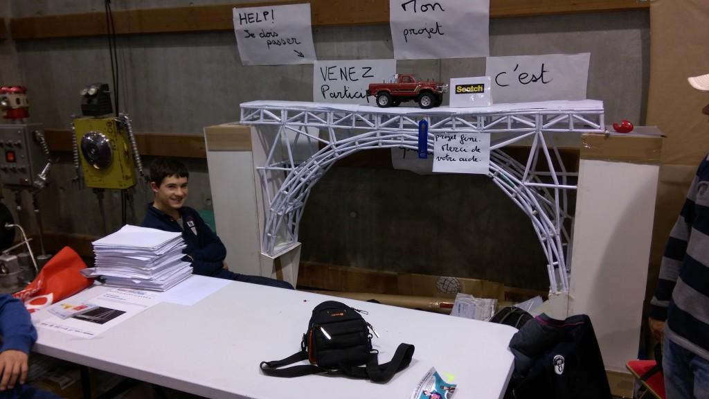 pont en papier