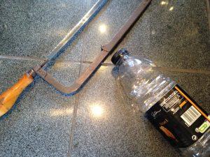 bouteille pour lance-pierre