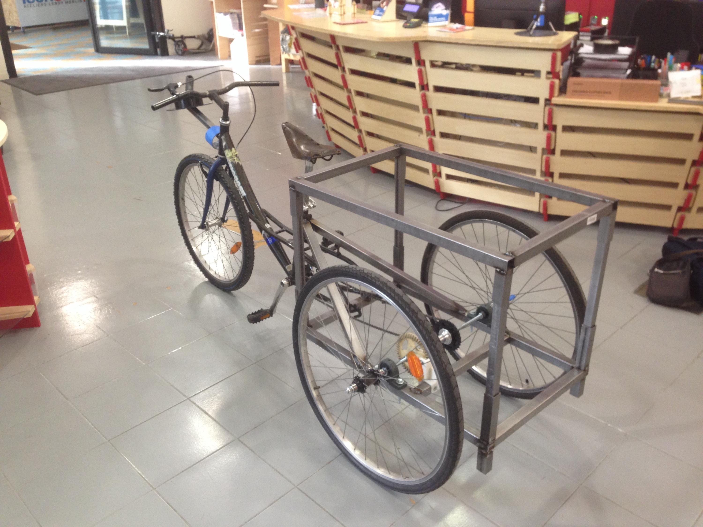 Fabriquer un tricycle en 3 jours ! 1/2